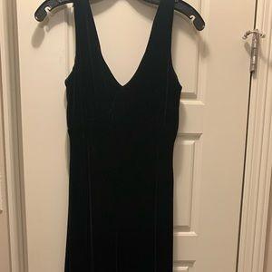 Black Velvet Ralph Lauren Formal Dress size 6